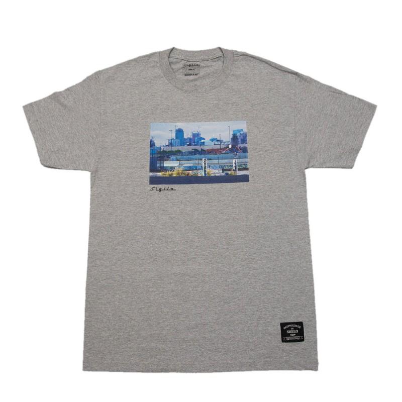 Camiseta Abram Alas TX Cinza