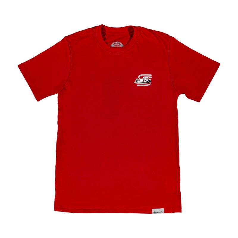 Camiseta F-1 Vermelha