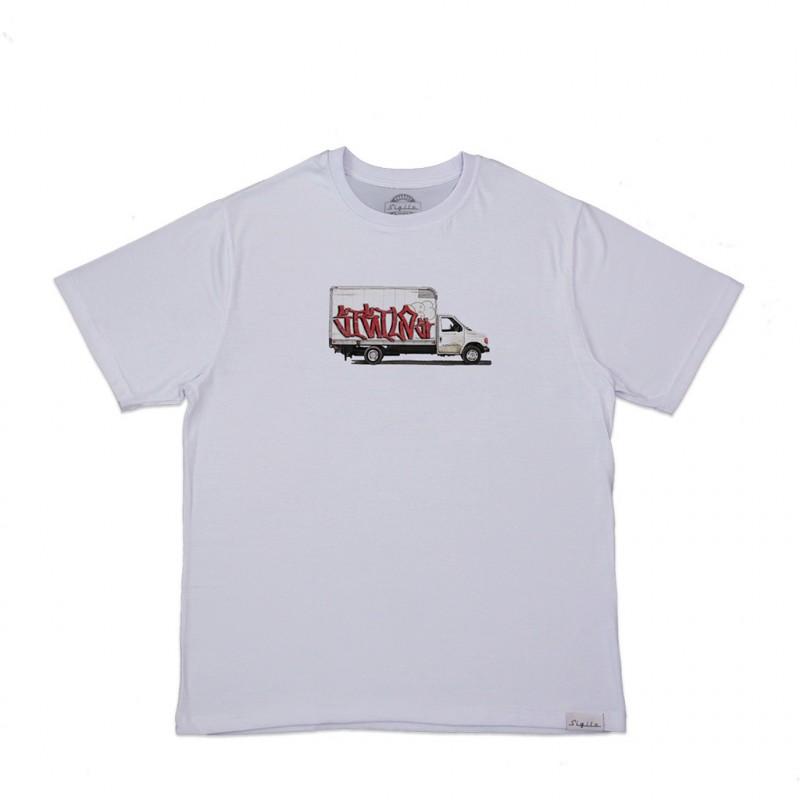 Camiseta Grapixo Truck Branca