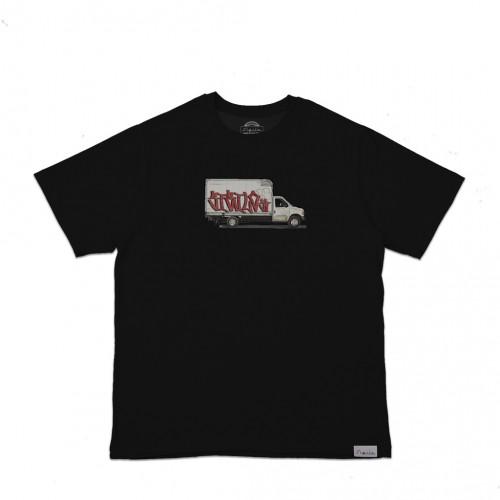 Camiseta Grapixo Truck Preta