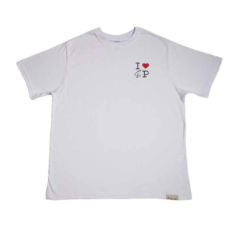 Camiseta I Love SP Branca