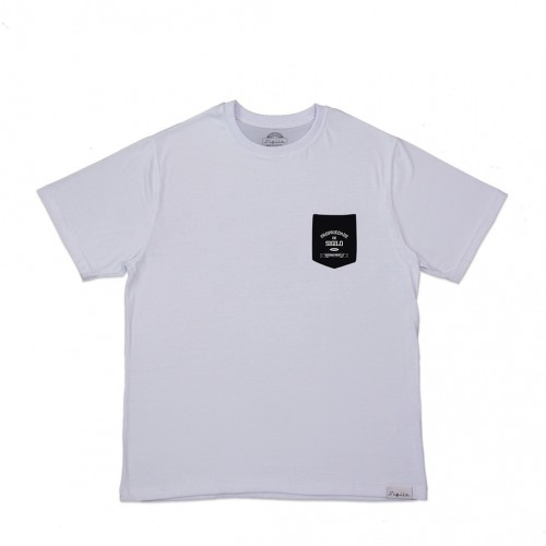 Camiseta Sigilo Pocket Branca