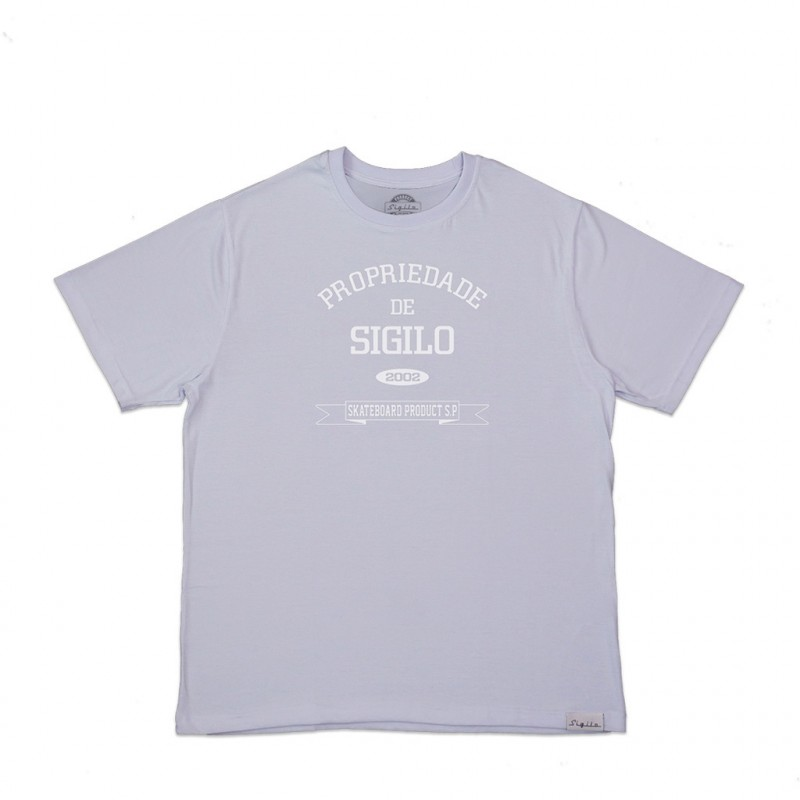 Camiseta Propriedade de Sigilo Branca