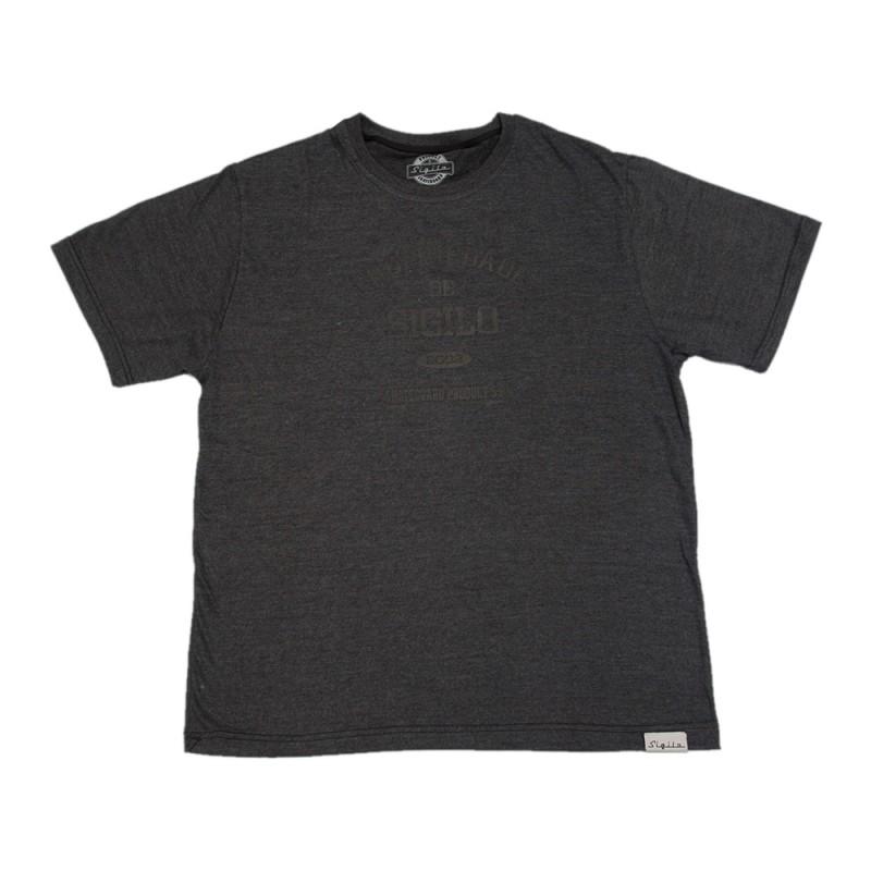 Camiseta Propriedade de Sigilo Cinza