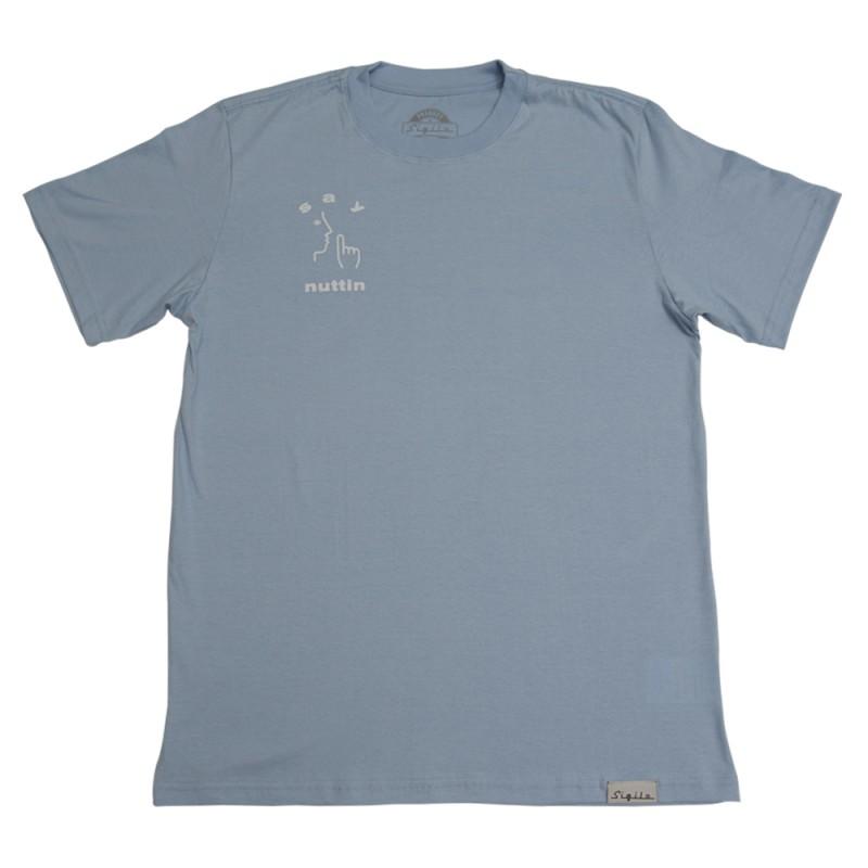 Camiseta Say Nuttin Azul