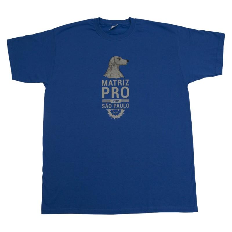 Camiseta Matriz PRO PUP Azul