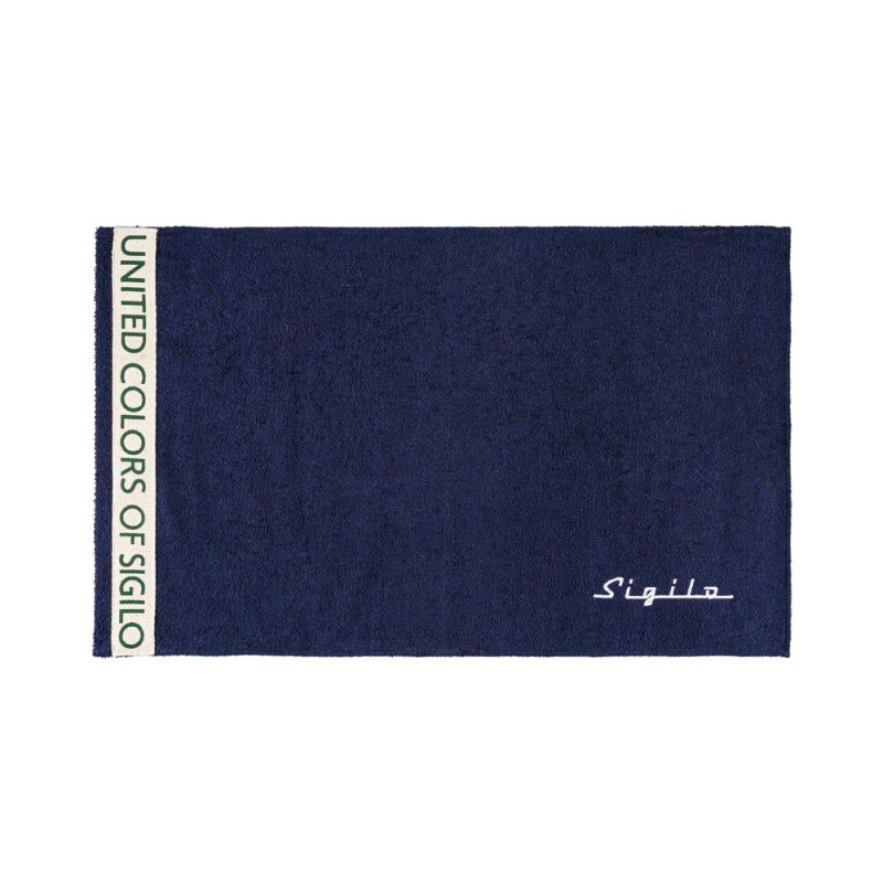 Toalha de Rosto United Azul Marinho